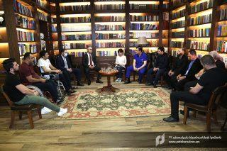 ՊԵԿ նախագահ Էդվարդ Հովհաննիսյանն այցելել է Հայրենիքի պաշտպանի վերականգնողական կենտրոն