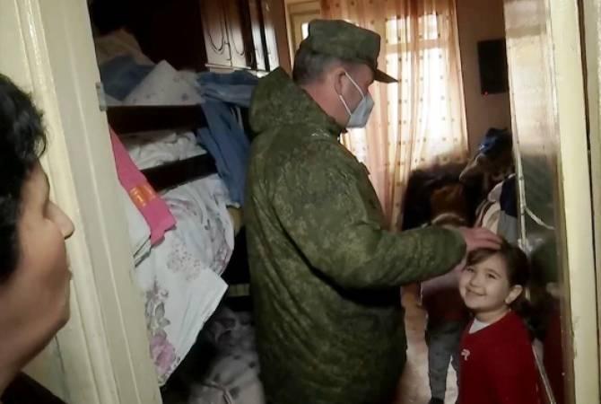 ՌԴ ՊՆ. Խաղաղապահներն Արցախում ավելի քան 3500 դիմում են ստացել օգնության համար
