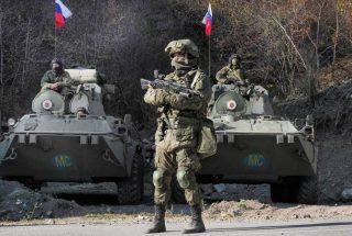 ՌԴ ՊՆ. Խաղաղապահները Լաչինի միջանցքում շարունակում են ապահովել քաղաքացիների անվտանգ երթևեկությունը