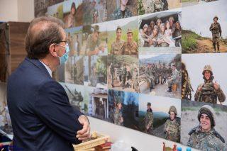 Ֆրանսիայի խորհրդարանի պատգամավորներն այցելել են Զինվորի տուն