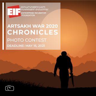 ՁԻՀ-ը հայտարարում է «Արցախյան պատերազմ 2020 ՏԱՐԵԳՐՈՒԹՅՈՒՆ» խորագրով լուսանկարների մրցույթ