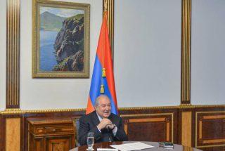 Արմեն Սարգսյանն առցանց մասնակցել է Կատարի միջազգային տնտեսական ֆորումին