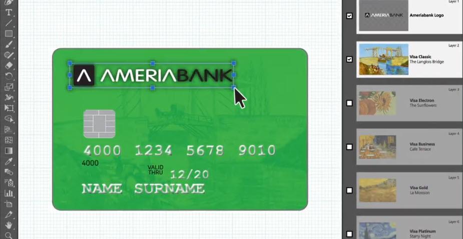 Ամերիաբանկ. բանկային քարտերի դիզայնի մրցույթ