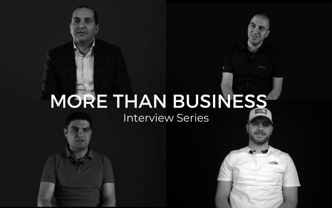 MORE THAN BUSINESS: Բացառիկ զրույցներ ՏՏ գործարարների հետ