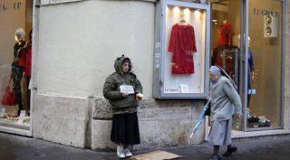 Իտալիայում արձանագրել են աղքատության՝ 2005 թվականից ի վեր ռեկորդային մակարդակ