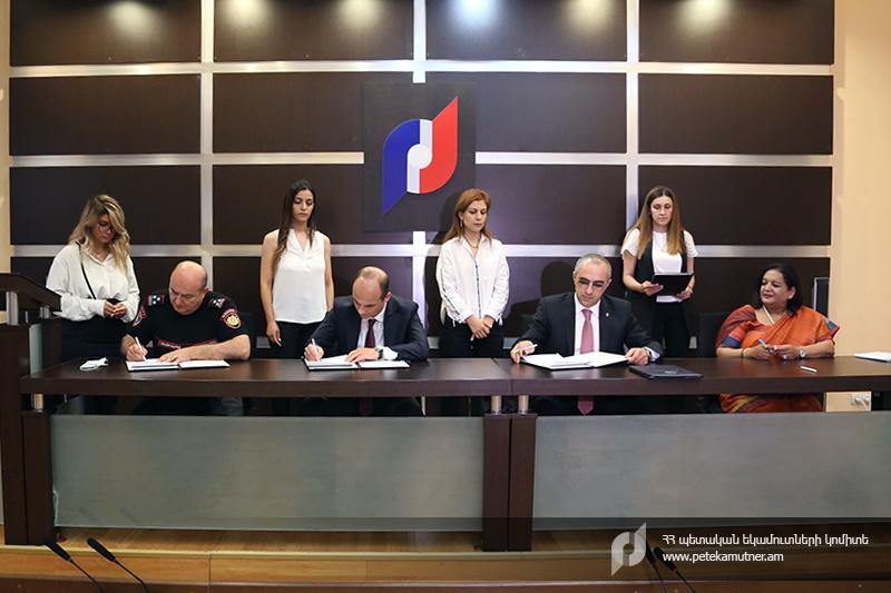 ՊԵԿ-ում ստորագրվել է փոխըմբռնման հուշագիր՝ Բեռնարկղերի վերահսկողության ծրագրի շրջանակում
