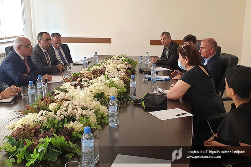 ՊԵԿ-ում տեղի է ունեցել հանդիպում Զարգացման ֆրանսիական գործակալության և Էքսպերտիզ ֆրանս կազմակերպության փորձագետների հետ