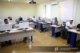ՊԵԿ ուսումնական կենտրոնում Հայրենիքի պաշտպանների համար կազմակերպվել են դասընթացներ