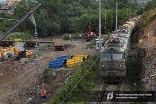 ՊԵԿ. Բագրատաշեն-Սադախլո անցակետում մեկնարկել է նոր կամրջի շինարարությունը