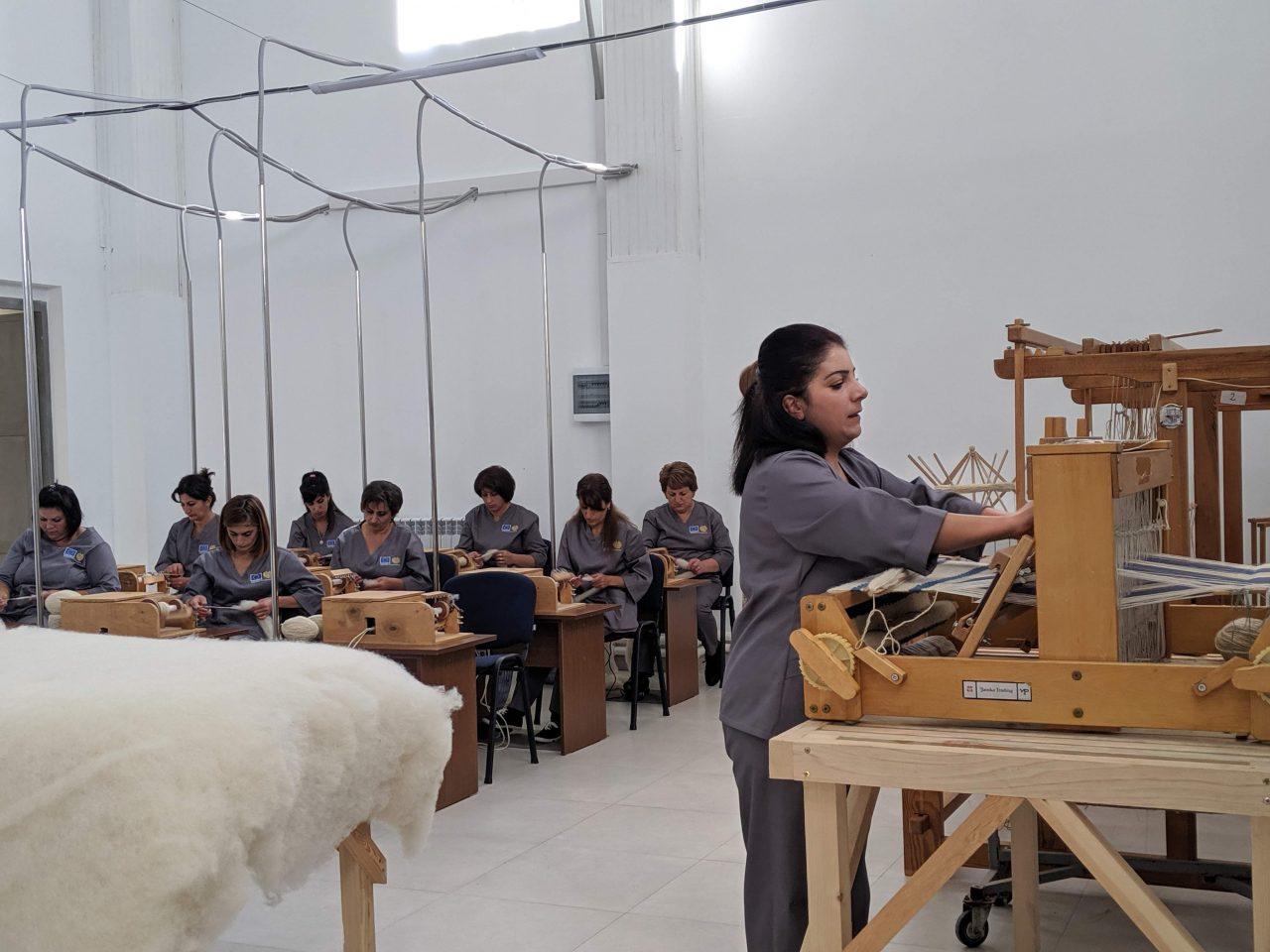 Ամասիայի բրդի գործարանում ներդրումներ է կատարվում արտադրության շարունակականությունն ապահովելու համար