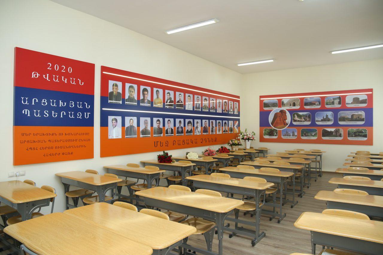 ՀՊՏՀ-ում բացվեց 44-օրյա պատերազմում զոհված ուսանող-հերոսների լսարան