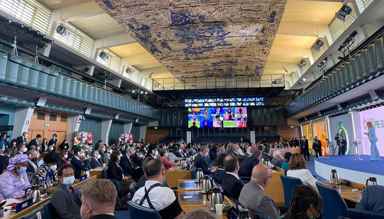 Իտալիայում ընթանում է ՄԱԿ 2021թ. Պարենային համակարգերի նախագագաթնաժողովը