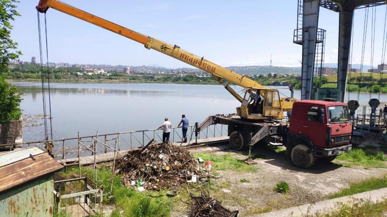 Հրազդան գետի և Երևանյան լճի առափնյա մասերում մաքրման մեծածավալ ծրագրեր կիրականացվեն
