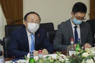 Չինաստանի դեսպանի հետ քննարկվել են բարձր տեխնոլոգիաների ոլորտում փոխգործակցության հնարավորությունները