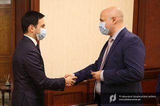 ՊԵԿ նախագահն ընդունել է ՎԶԵԲ հայաստանյան գրասենյակի ղեկավարին