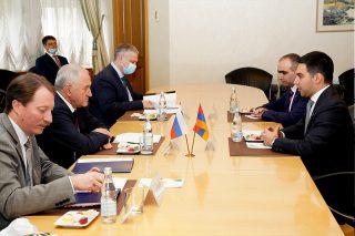 ՊԵԿ նախագահ Ռուստամ Բադասյանն աշխատանքային այցով մեկնել է Ռուսաստանի Դաշնություն