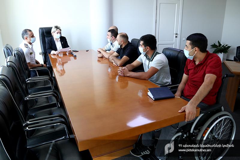 ՊԵԿ. Հայրենիքի պաշտպաններից հինգը կաշխատեն մաքսային ծառայությունում