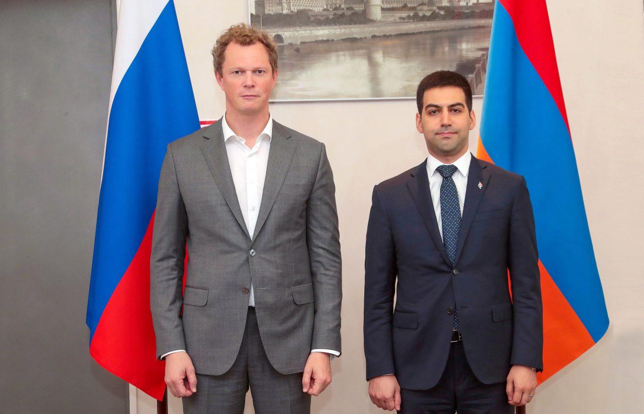 ՊԵԿ նախագահը հանդիպել է ՌԴ դաշնային հարկային ծառայության ղեկավարի հետ