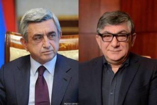 Սերժ Սարգսյանը դատական հայց է ներկայացրել Խաչատուր Սուքիասյանի դեմ