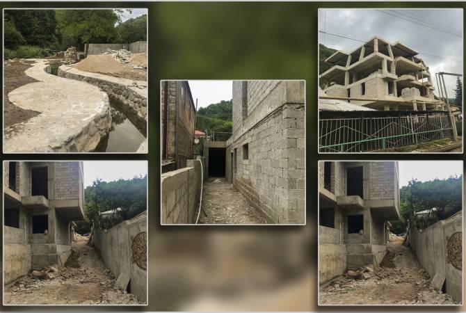 Տեսչական մարմնի ստուգման հիման վրա կասեցվել է Դիլիջանում ինքնակամ կառուցվող հյուրանոցի շինարարությունը