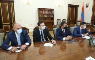ԵԱԶԲ կառավարման խորհրդի նախագահ Նիկոլայ Պոդգուզովին ընդունել են ՀՀ կառավարությունում