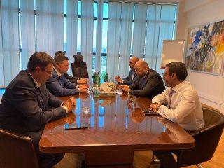 Կենտրոնական բանկ. Մարտին Գալստյանը հանդիպել է Եվրասիական զարգացման բանկի վարչության նախագահի հետ
