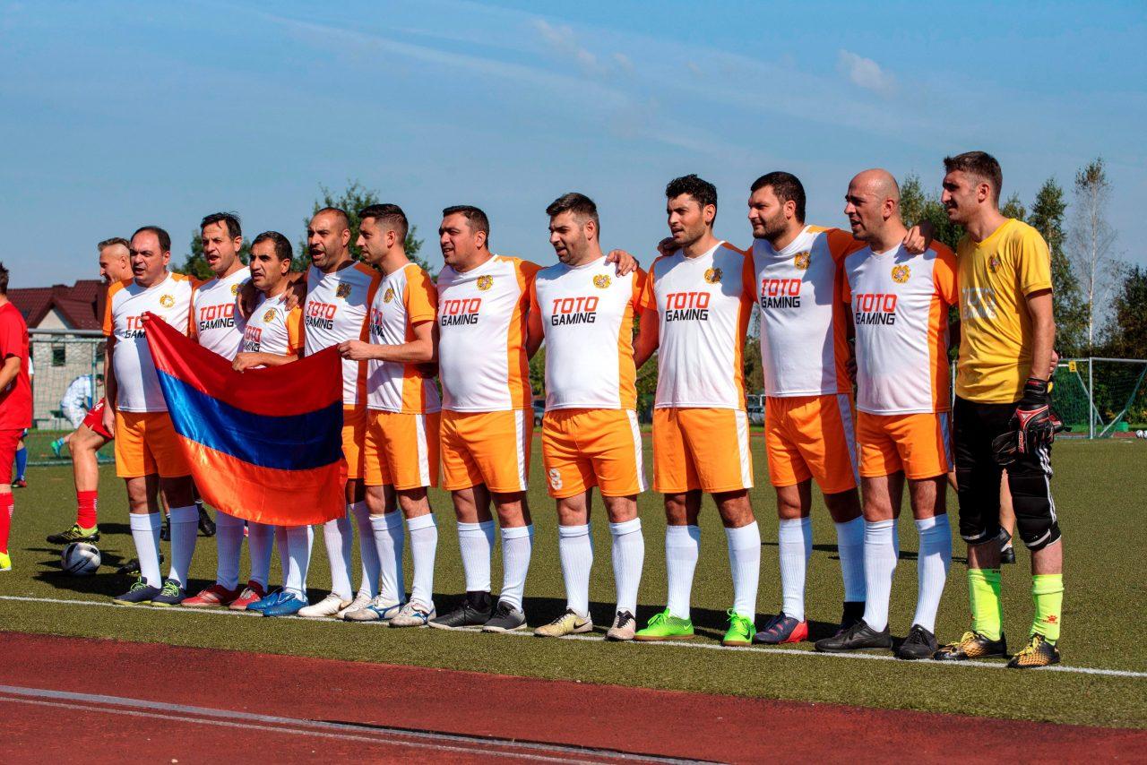 Հայաստանի լրագրողները Լիտվայի ֆուտբոլային մրցաշարում կրկին 2-րդն են