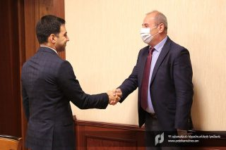 ՊԵԿ նախագահն ընդունել է ՀՀ-ում Վրաստանի Հանրապետության գործերի ժամանակավոր հավատարմատարին