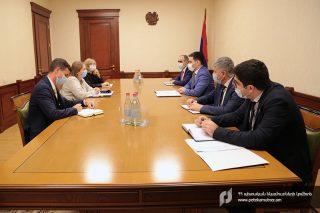 ՊԵԿ նախագահն ընդունել է Հայաստանում ԱՄՆ դեսպանին