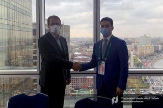 ՊԵԿ նախագահը հանդիպել է Իրանի Իսլամական Հանրապետության մաքսային ծառայության ղեկավարի հետ