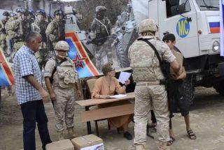 Ռուսաստանը 10 տոննա հումանիտար օգնություն է ուղարկել Արցախին