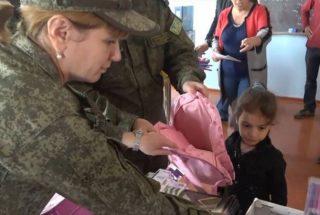 ՌԴ ՊՆ. Ռուս խաղաղապահները և բարերարները 1,2 տոննա հումանիտար օգնություն են փոխանցել Արցախի կարիքավոր բնակիչներին