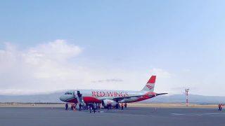 Մեկնարկել են Red Wings ավիաընկերության Մոսկվա-Գյումրի-Մոսկվաերթուղով չվերթերը