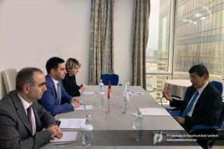 ՊԵԿ նախագահը Մոսկվայում հանդիպել է Համաշխարհային մաքսային կազմակերպության գլխավոր քարտուղարի հետ