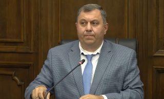 Ներսես Երիցյանը ներկայացրեց 2022թ-ի ԿԲ կապիտալ և վարչական ծախսերը