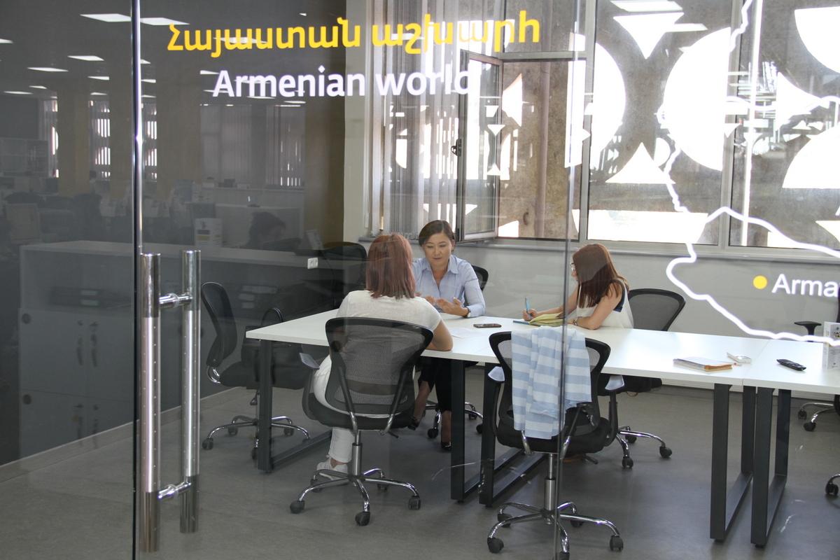 Дина Нурпеисова: Развитие и карьерный рост сотрудников - один из приоритетов ВЕОН Армения 1