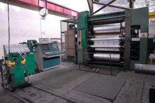 Завод АРМЕНАЛ запустил высокоэффективную машину раздвойки-резки фольги