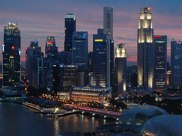 Экономика Сингапура 'зависла'