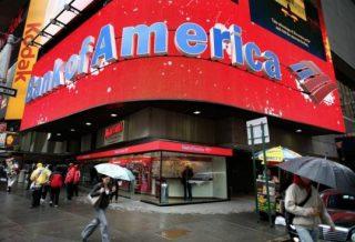 За 9 месяцев Bank of America снизил чистые убытки  на 26%