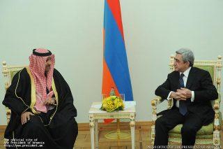 Серж Саргсян принял верительные грамоты посла Государства Кувейт в РА