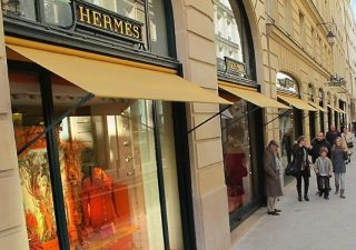 Кризис обошел Hermes стороной