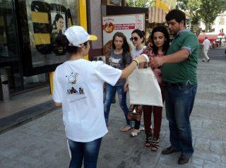 «АрменТел» и Фонд Дети Армении проводят экологическую акцию «Защитим окружающую среду»