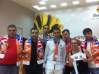 При содействии «АрменТел» армянские болельщики поддержат сборную Армении по футболу в Софии