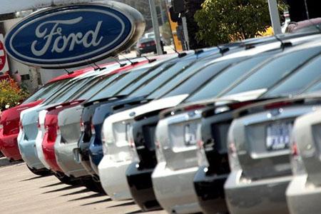 Продажи автомобилей Ford в РФ достигли 95,88 тыс шт.