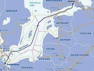 """Эстония выступила камнем преткновения на пути """"Северного потока"""""""