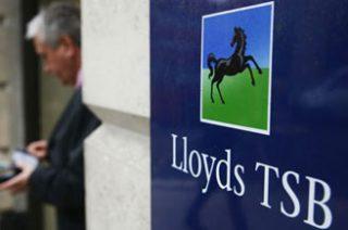 Убыток Lloyds Banking Group  в 2012г. сократился в 1,9 раза