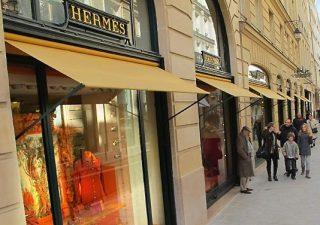 Рост квартальной выручки Hermes достиг минимального  за 3 года показателя