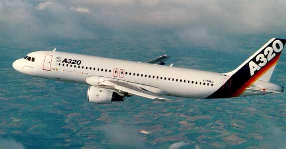 Airbus продал азиатским странам более 150 лайнеров A320