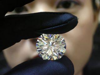 В этом году в нашей республике было произведено около 67 тысяч карат бриллиантов