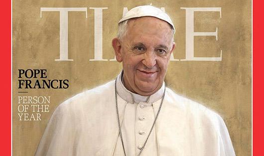 Папа римский стал человеком года по версии Time